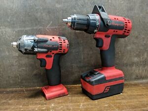Snap On Cdr8815 Ct88100 Monster 1 2 Cordless Drill 3 8 Impact Wrench