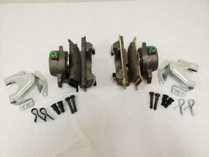 1968 1973 Ford Mustang Mercury Cougar Disc Brake Calipers Complete Loaded Pair