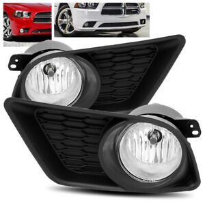 For 2011 2014 Dodge Charger Fog Lights Bumper Driving Lamps Left right Assembly