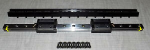 Thk Ssr20 Linear Bearing Way Slide Stage Block Guide Rail Assembly 450mm 17 5 8