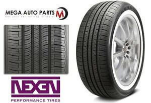 1 New Nexen N priz Ah5 225 75r15 102s White Wall All Season Performance Tires