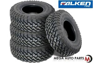 4 New Falken Wild Peak Mt01 Lt37x13 50r20 E 127q Blk All Terrain Mud Tires