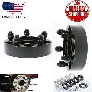 2pc 5x5 Hubcentric Wheel Adapter 2 5x127 Fit Commander Grand Cherokee Wrangler