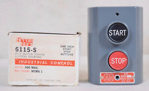 Arrow Hart Push Button Switch Control Station 6115 s