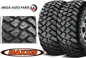 2 Maxxis Razr Mt 37x13 50r20lt 127q E 10 All Terrain Off Road Performance Tires
