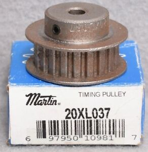Martin 20xl037 Timing Pulley