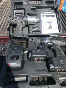 Mac Tool Cordless Drill Driver Cdd19212 And Impact Wrench Matco