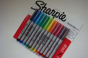 New Sharpie Precision Ultra Fine Permanent Markers 1788527 12 Markers