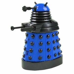 Underground Toys Doctor Who Dalek Blue Desktop Patrol Figure With Motion Detecto