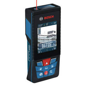 Bosch Laser Distance Meter 395 Ft Distance lcd Glm 400 Cl