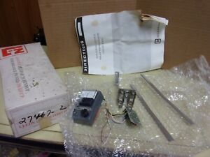 Leeds Northrup Solid State Null Detector Parts Kit 324050 See Pics