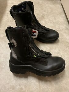 Haix Airpower R2 Firefighter ems Station Boots 9 5 Xw