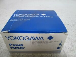 Yokogawa 250 400 faxs Panel Meter 0 2500 Dc Ampers New In Box