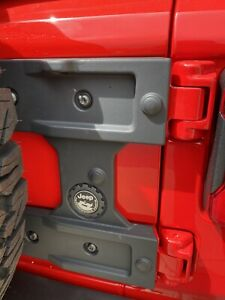 2018 2021 Jeep Wrangler Jl Oversized Spare Tire Carrier Tailgate Reinforcement