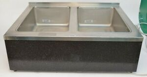 Wells Manufacturing Countertop Double Well Warmer No Model