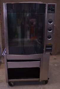 Hobart Hr7 Electric Commercial Chicken Rotisserie Oven Double Stack Barbecue Hr