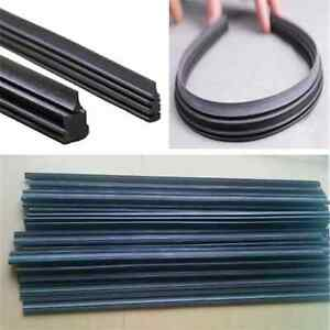 Wiper Blade universal Auto Car Windshield Frameless Rubber refill 24 Long X 6mm