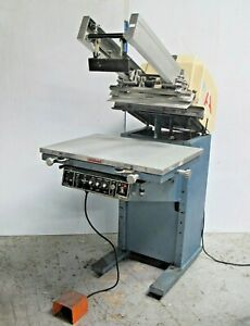 American Screen Printing Equipment Cameo Vacuum Table Made In Usa