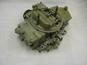 Ford Mustang Shelby Gt 350 1968 Holley Carburetor