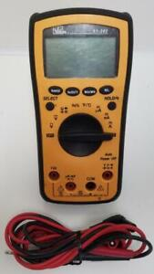 Ideal 61 340 Test pro Lcd Digital Multimeter With Leads Ac dc Voltage current
