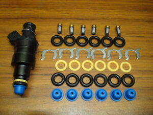 Fuel Injector Replacement Parts Kit For Fiero V6 With Multi Port Fuel Injection