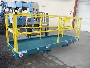 New Safety Work Platform Aerial Man Scissor Genie Fork Lift Basket Telehandler
