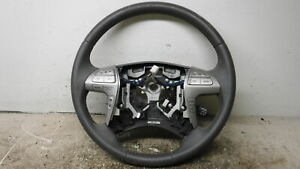 2007 2010 Toyota Camry Driver Steering Wheel Gray Leather Oem Lkq