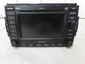 04 06 Dodge Durango 6 Disc Cd Player Satellite Ready Navigation Radio Rec Oem