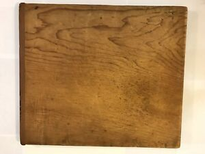 Vtg Antique Early Primitive Large Wooden Cutting Board Kitchenware Farmhouse