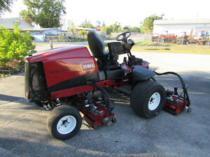 Toro 5510 Fairway Reel Mower Kubota Diesel 100 Cut Dpa Reels 03680 1191 Hrs
