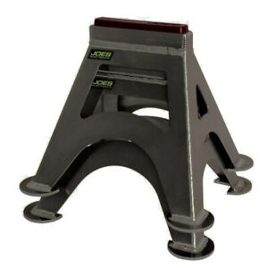 Jack Stands Stock Car Black Pair Joes Racing Products 55500 B