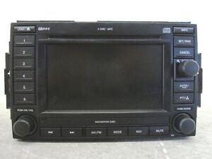 2005 Jeep Grand Cherokee Radio Navigation 6 Cd Dvd Player Mp3 Rec Oem