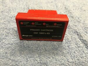 Snap On Mt2500 1193 Primary Cartridge Gm 1980 1 2 To 93