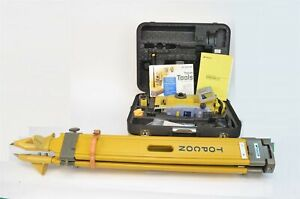 Topcon Is 205 Imaging Total Station W Rc 4r Tripod Hard Case