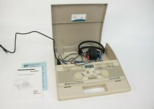 Welch Allyn Am 232 Manual Screening Audiometer Telephonics Tdh 39p Headphones 1