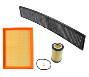 Air Filter Oil Filter Ac Cabin Filter Carbon Bmw E46 323i 325i 328i 330i X3
