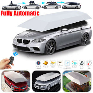 Full Automatic Universal Outdoor Car Tent Umbrella Roof Sun Shade Cover Uv Lot