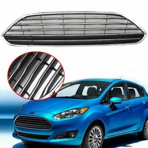 Front Bumper Radiator Center Grille Panel Trim For Ford Fiesta 13 16 F Fs 15 Usa