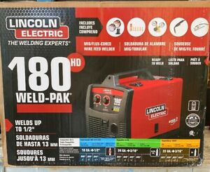 New Lincoln Electric 180hd Wire Feed Weld pak K2515 1