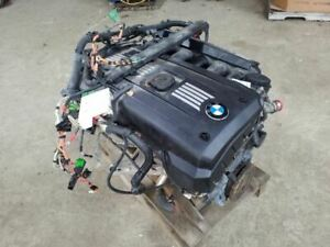 Engine Motor 3 0l Convertible N51 Engine Manual Transmission 2008 Bmw 128i