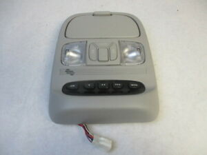 2006 Toyota Sienna Roof Overhead Homelink Dome Light Console Gray Oem Lkq