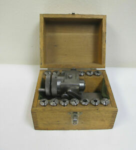 Collet Fixture Indexer For Precision Grinding Hardinge Rivett 3at Collets Nice