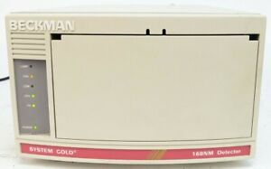Beckman Coulter Hplc System Gold 168nm Detector Cat 728768
