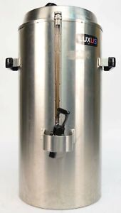 Fetco Luxus Tpd 30 3 Gallon Hot cold Beverage Dispenser Stainless Steel