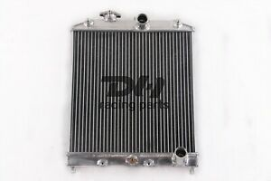 Aluminum Racing Radiator For Honda Civic 1992 2000 Manual Transmission Mt 2 Rows