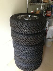 17 Jeep Wrangler Rubicon Oem Wheels With Bfgoodrich Tires Set Of 5 Never Used