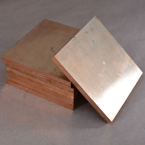 Copper Plate Oxygen Free Electronic ofe Plate Astm Copper No C10100