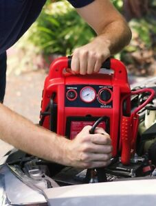 V6 Car Jump Start With Air Compressor By Wagan