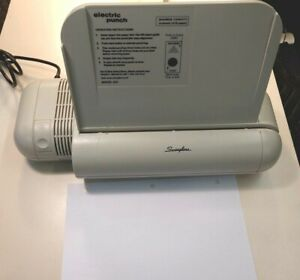 Swingline Commercial Electric 3 hole Punch Model 535 28 sheet Capacity