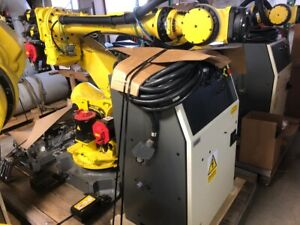 Fanuc R2000ib 125l 6 Axis Cnc Robot With R30ia Controller